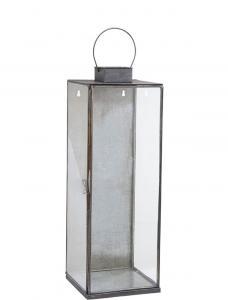 Vägglykta - Ljuslykta för vägg - Stilren i metall - 58 x 20 cm - www.frokenfraken.se