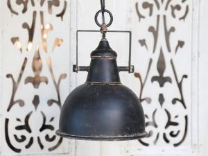 Chic Antique Lampa - Factory - Antik Svart - Ø24 cm