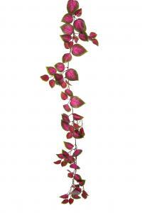 Palettblad girlang - Rosa - 160 cm - www.frokenfraken.se