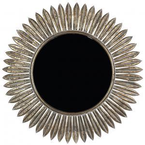 Spegel - Rund Antik Mässing - Ø75 cm - www.frokenfraken.se