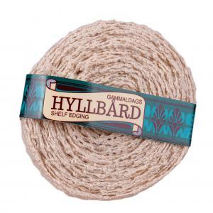Hyllbård - Antik Créme - 1,5 cm bred - www.frokenfraken.se