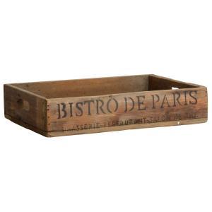 IB Laursen Bricka - Trä - Bistro-de-Paris - 40x29x8