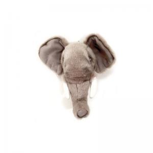 Elefanthuvud för vägg - Mini - 24 cm - www.frokenfraken.se