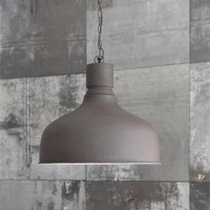 Taklampa - Metall - Matt Svart - 44 x Ø50 cm - www.frokenfraken.se