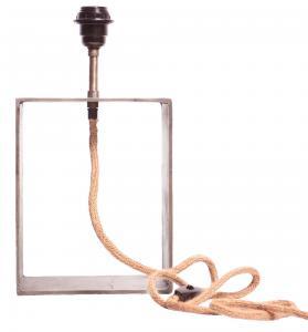 Raw Box Lampfot - Råsilver 37cm - www.frokenfraken.se