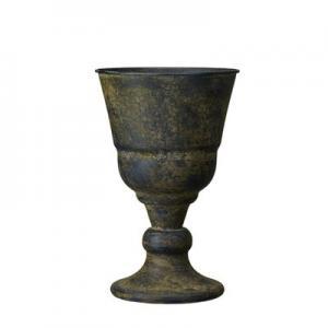 Kruka - Pokal - Rost - 21 x 33 cm - www.frokenfraken.se