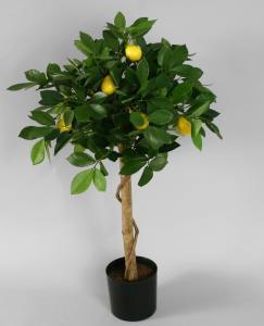 Citrusträd - Citron - Konstväxt - 80 cm - www.frokenfraken.se