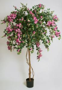 Living Home Bougainvillea - Blommande stort träd - Lila - Konstväxt - 140 cm