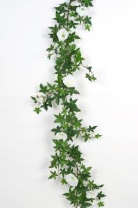 Blomma för dagen - Vit - 120 cm - www.frokenfraken.se