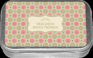 """Pastiller - """"Världens Bästa Fröken"""" - Apelsin - www.frokenfraken.se"""
