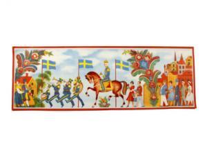 Bonad - Folkfest - 102 x 35,5 cm - www.frokenfraken.se