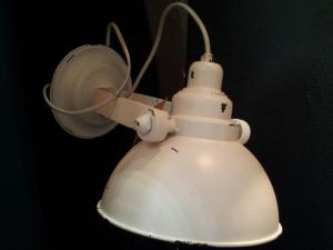 Vägglampa - Vit - 30cm - www.frokenfraken.se
