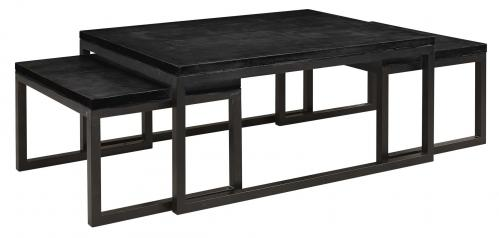 TOSHU Coffeetable 3-piece Black (SP1100) - www.frokenfraken.se