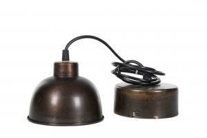 Lampa - Antik - Brunsvart - 14,5 x 10 cm - www.frokenfraken.se
