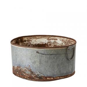 Affari Järnbalja - Antikbehandlad - Ø 45 cm - www.frokenfraken.se