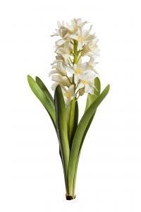 Mr Plant Hyacint - Vit - 32 cm