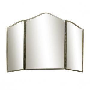 Spegel Karin 3-delad Antik Silver - W 82 x H 60 cm - www.frokenfraken.se