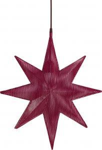 Capella Stjärna - Röd 50cm - www.frokenfraken.se