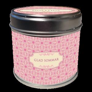"""Doftljus - """"Glad Sommar"""" - Apelsin - www.frokenfraken.se"""