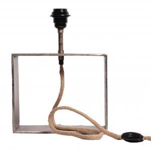 Raw Box Lampfot - Råsilver 33cm - www.frokenfraken.se