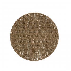 Tablett - Tobago - Brun - Ø38 cm - www.frokenfraken.se