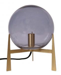 Milla Bordslampa - Guld/Smokey 28cm - www.frokenfraken.se