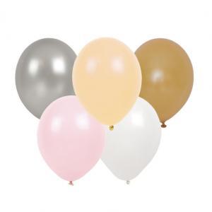 Ballonger - Blandade färger - Rosa - 10 st - www.frokenfraken.se
