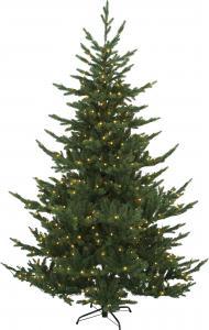 Julgran med belysning - Borgafjäll - 210 cm - 460 lampor - Inomhus & Utomhusbruk - www.frokenfraken.se
