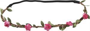 Hårband - Rosor - Rosa - Ø16 cm - www.frokenfraken.se