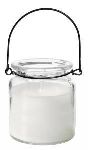 Ljuslykta med ljus - Hängande glas - Ø8 cm - www.frokenfraken.se