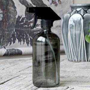 Sprayflaska - Glas - Rökfärgad - 480 ml - www.frokenfraken.se