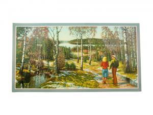 Bonad - Vårpromenad - 81 x 43 cm - www.frokenfraken.se