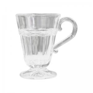 Glasmugg med pärlkant - 11,5 cm - www.frokenfraken.se