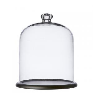 Glaskupa med fat - Ø23 x H28 cm - www.frokenfraken.se