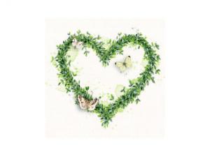 Servett - Green Dream - 33 x 33 cm - www.frokenfraken.se