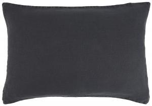 Kuddfodral Linne - Midnight Blue - 40 x 60 cm - www.frokenfraken.se