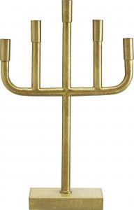 Vixen ljusstake - Raw old brass 59cm - www.frokenfraken.se