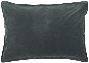 Kuddfodral - Sammet - Historical Blue - 72 x 52 cm - www.frokenfraken.se