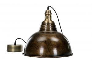 Taklampa - Antik Brun - 38 x 34 cm - www.frokenfraken.se