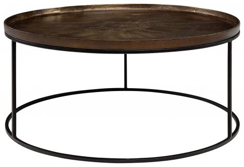 FABIO coffee table vintage brass - www.frokenfraken.se