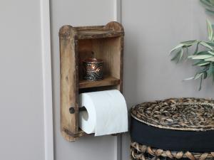 Toalettpappershållare - Murstensform - 30 x 15 cm - www.frokenfraken.se