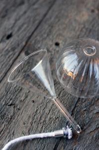 Tratt - Klarglas - 6 x 10 cm - www.frokenfraken.se