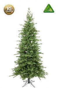 Julgran med belysning - Vålådalen Smal - 180 cm - 300 lampor - www.frokenfraken.se