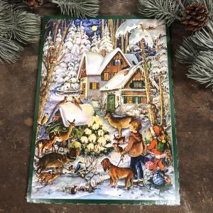 Chokladkalender - Landet - Adventskalender - 35 x 25 cm