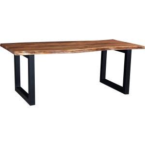 Matbord - Massivt trä - 76 x 210 x 100 cm - www.frokenfraken.se
