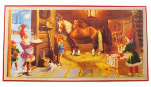 Julbonad - Julgröt i stallet - 81 x 42 cm - www.frokenfraken.se