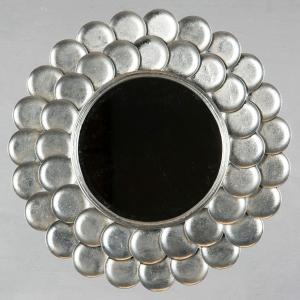 Alot Spegel - Rund Silver - Ø75 cm - www.frokenfraken.se