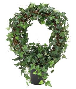 Murgröna på båge - Konstväxt - 75 cm - www.frokenfraken.se