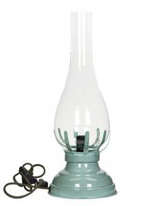Lampa - Fotogenlampa med el - Ocean - 42 cm - www.frokenfraken.se