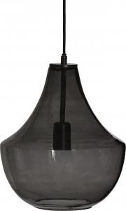 Taklampa - Hamilton Handgjort Glas - Rökfärgad - 38 x 30 cm - www.frokenfraken.se